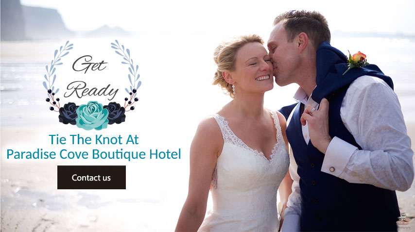 Wedding at Paradise Cove Boutique Hotel